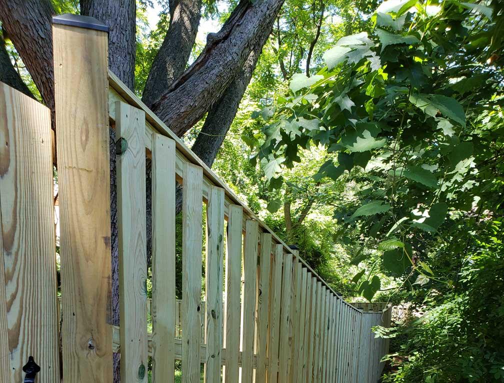 m fence posts