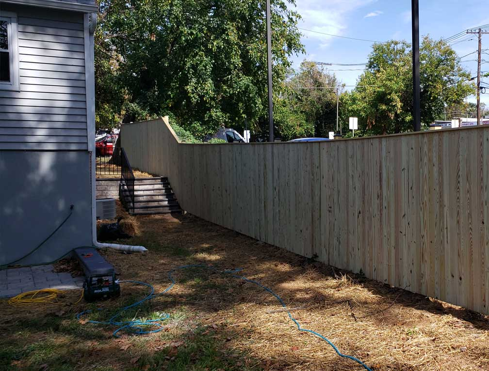 fence installation dallas