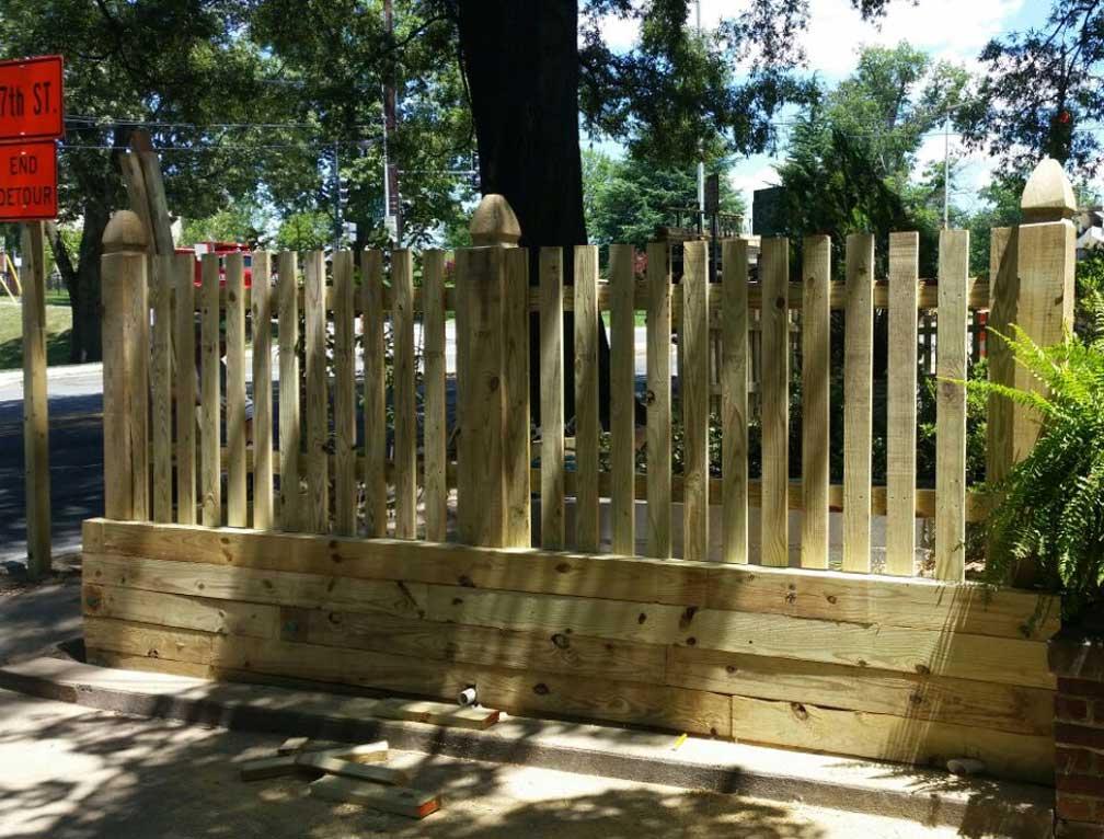 fence h brace dimensions
