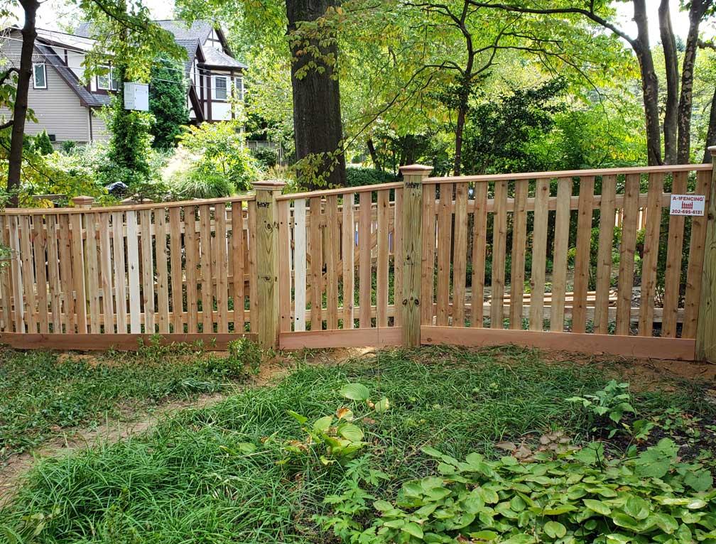 fence h frame