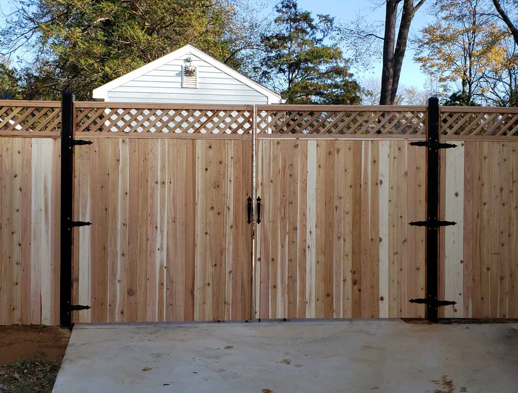 fence kits lowes