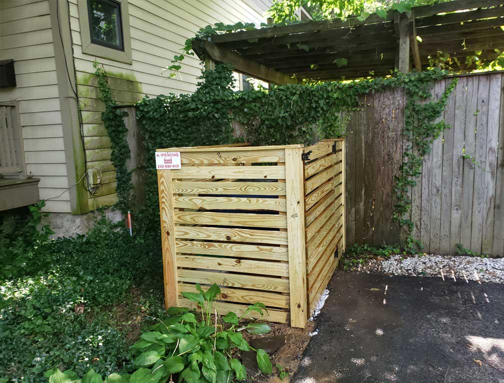 fence kicker board