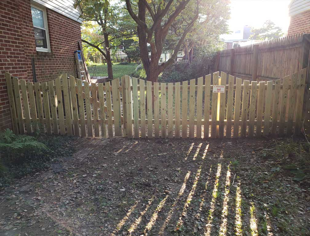 fence height shed