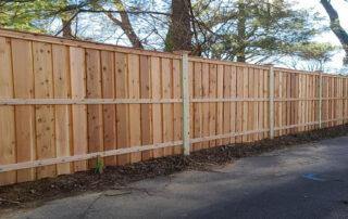 privacy fence cedar